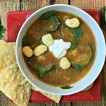 Tortilla Soup with Zucchini