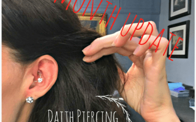 Daith Piercing for Migraines: 3 Month Update & Grossness
