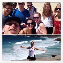 Trip with the hostel crew to Bronté and Bondi Beach.
