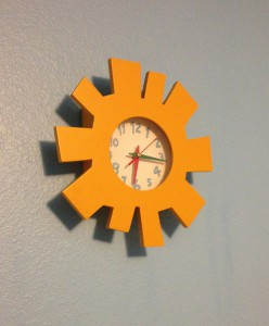 Clock I bought on the cheap from a Facebook yard sale site.