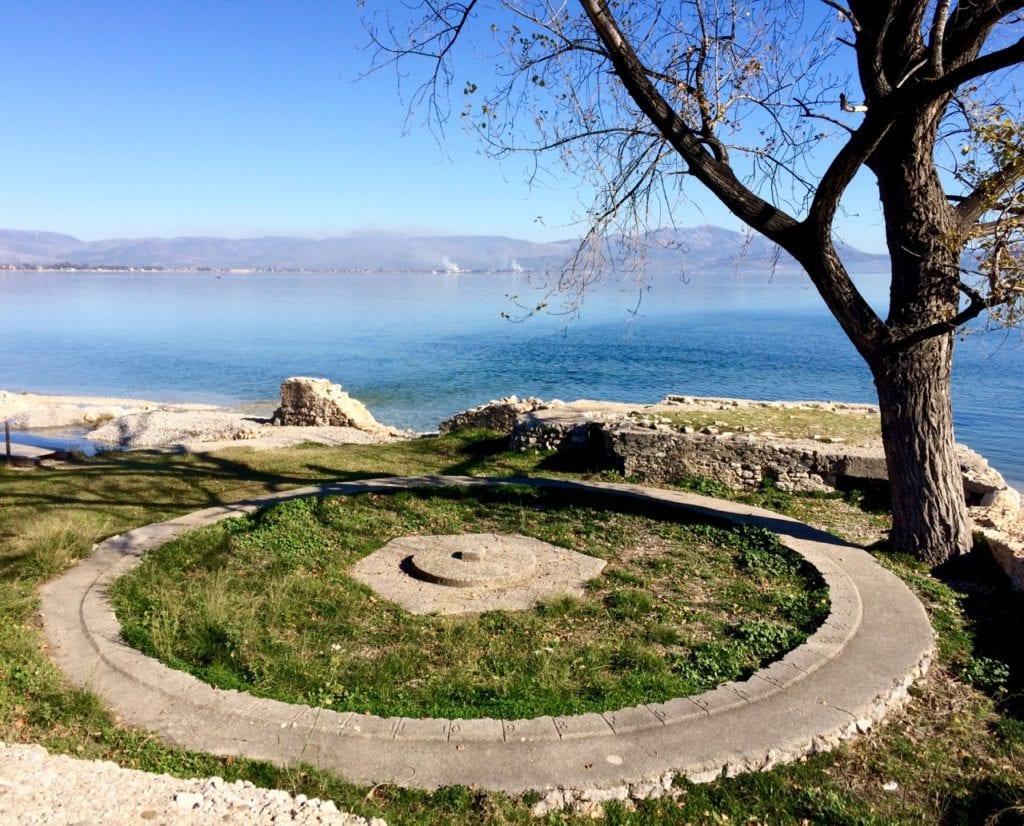 WW2 concrete compass near Mylio