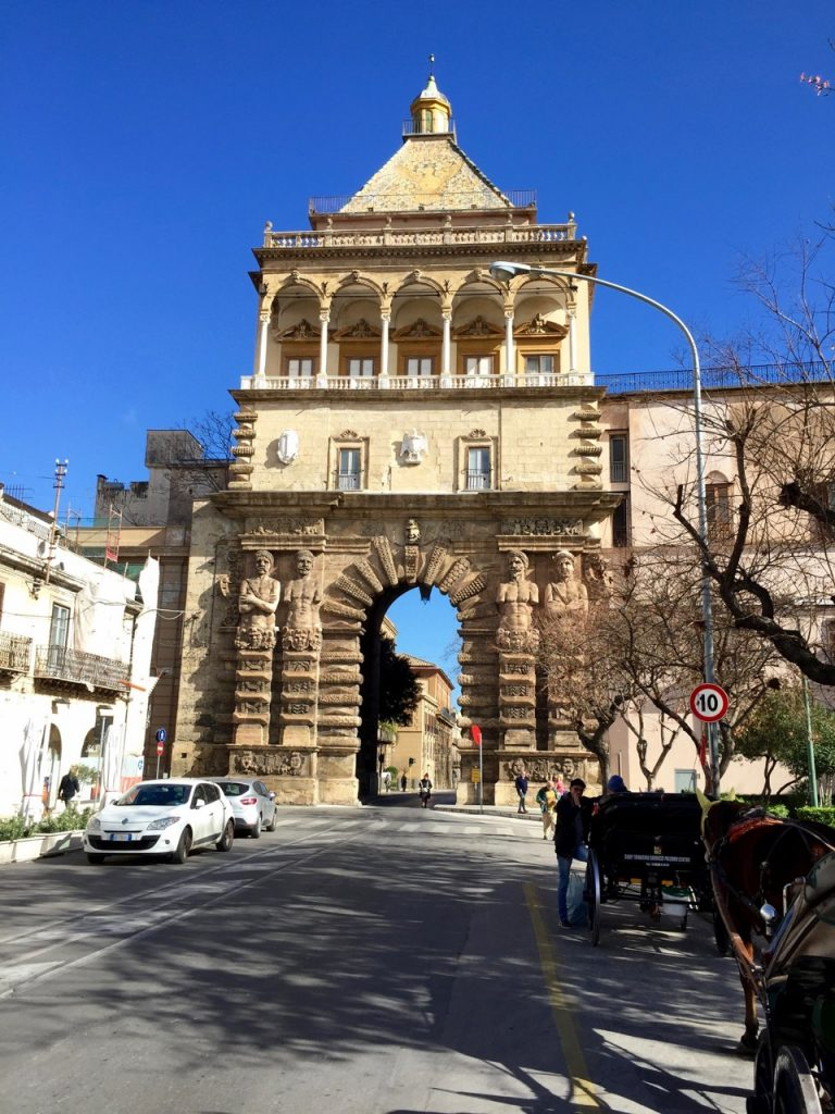Gateway to the old part of Palermo