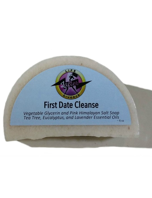 Pink Himalayan Salt Soap First Date Cleanse - front