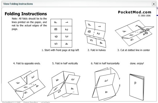 Pocketod Folding Instructions