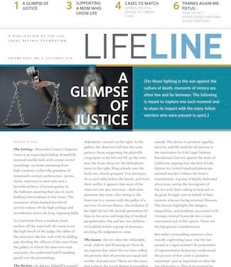Cover of Lifeline September 2018