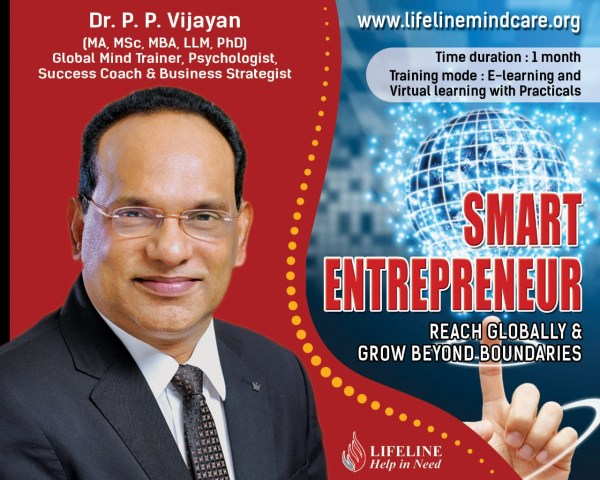 smart entrepreneur training program by dr.pp vijayan
