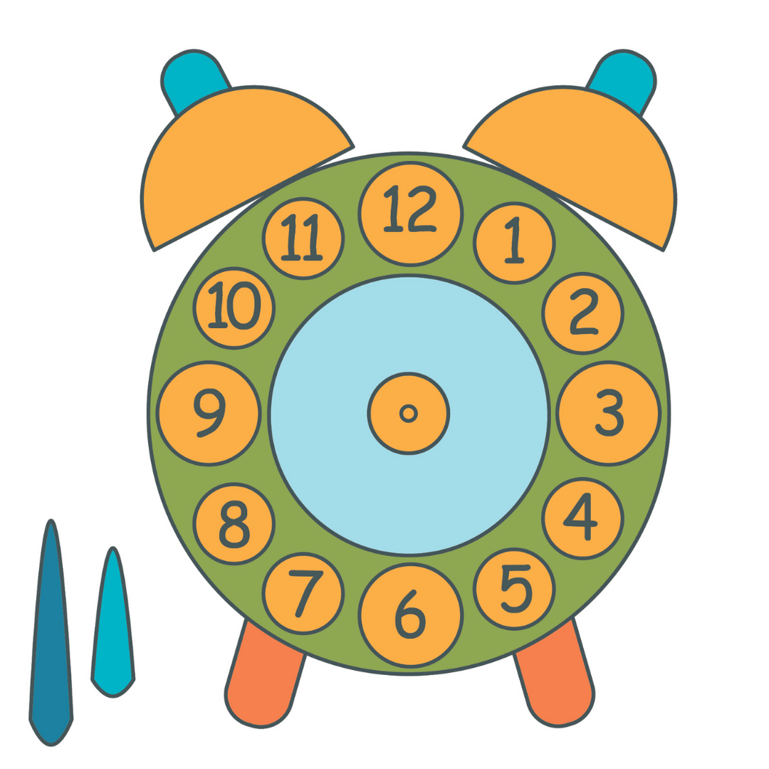 Clock Printable To Teach How To Tell Time