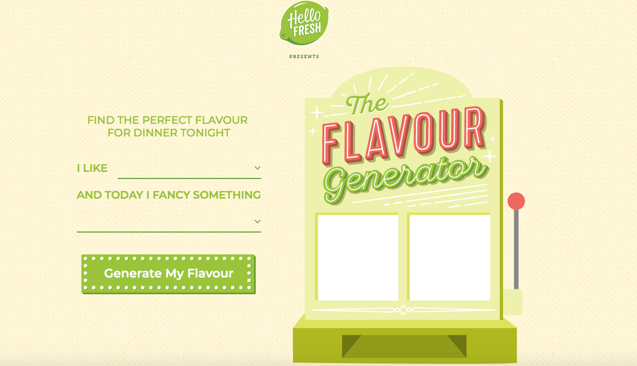 Meal Delivery Service Perth - Hello Fresh Flavour Generator