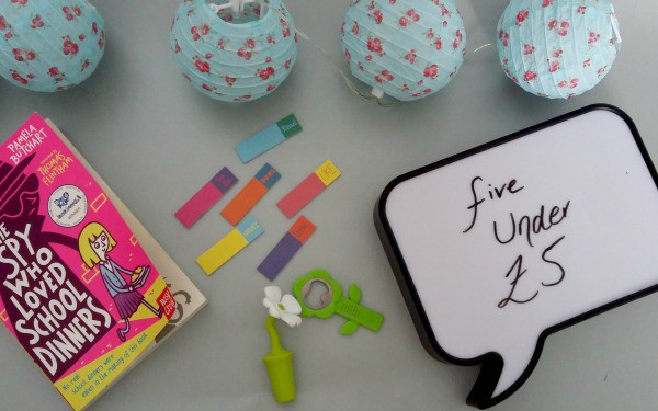 Flatlay image of the the five things under £5 detailed in this post