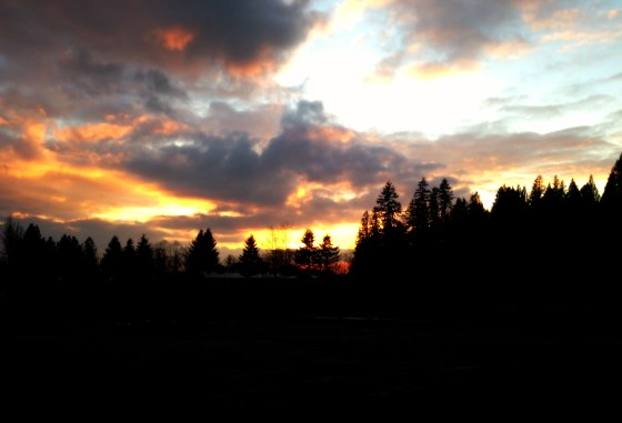 Sunset at Timberline Ranch