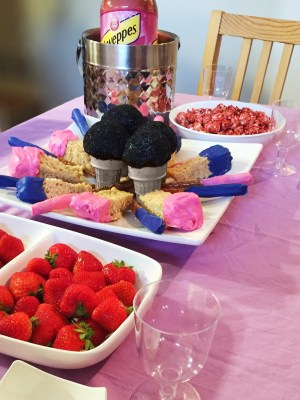Barbie Themed Party Food
