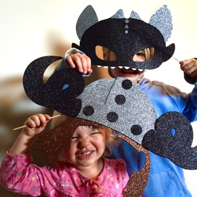 How to Train your Dragon photo booth props