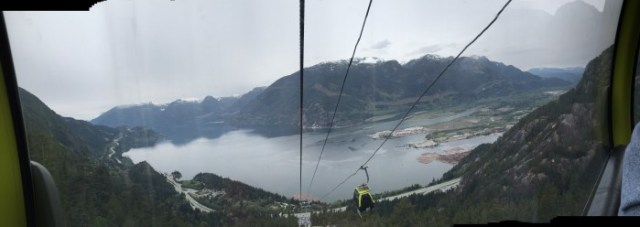 The view from Sea to Sky Gondola - Squamish