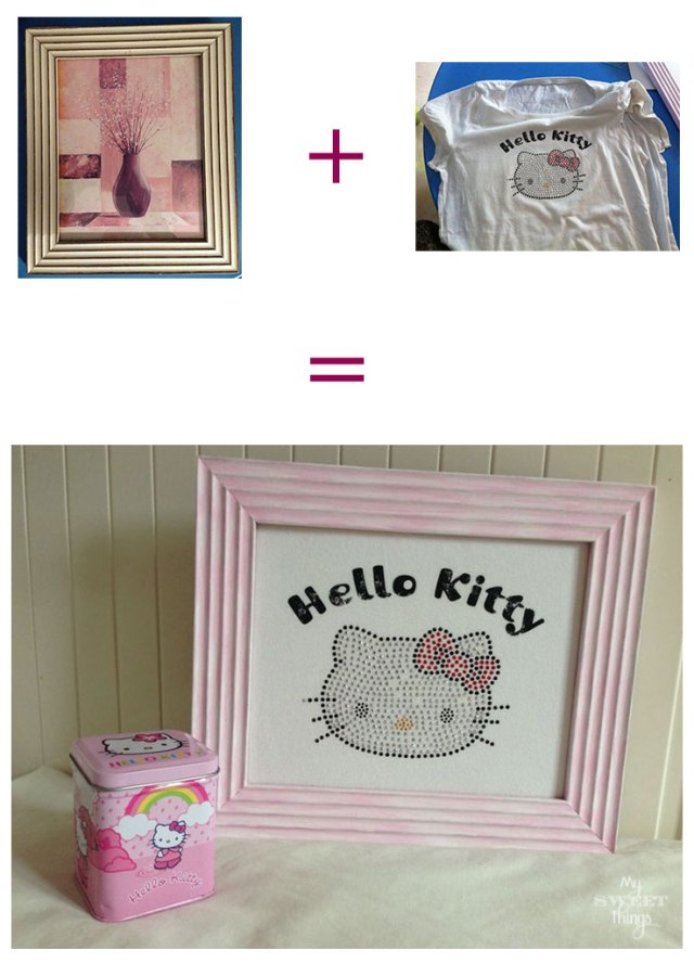 Hello Kitty Photo DIY