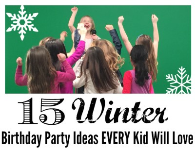 Winter Birthday Party Ideas cropped
