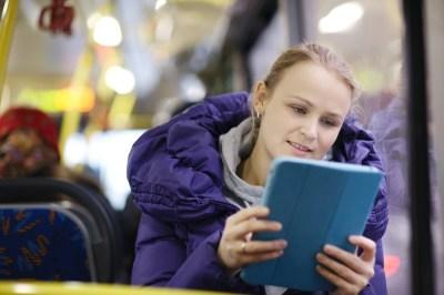 Netflix binge on transit