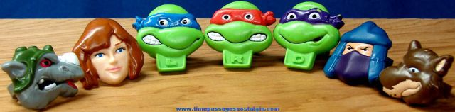 Teenage Mutant Ninja Turtles Rings