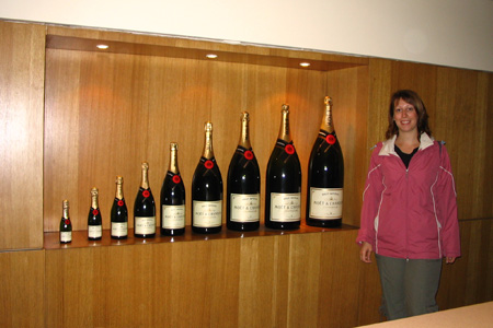 Champagne Tasting at Moet et Chandon