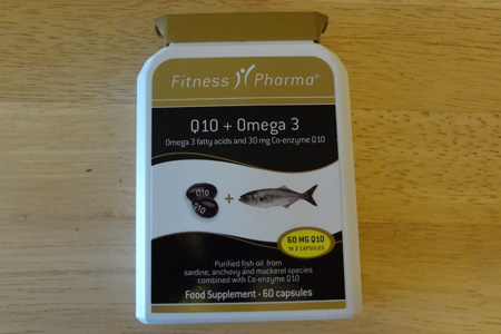 Q10 and Omega 3 supplements