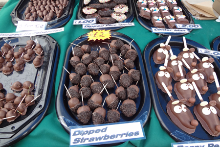 5 A Day Stall At Kendal Food Festival