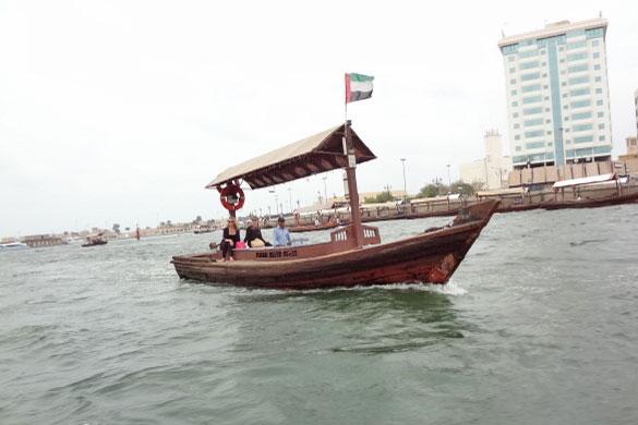 Boats in Dubai