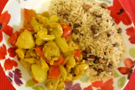 Trinidad Chicken Curry