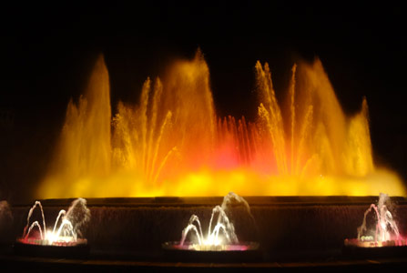 Magic Fountain, Barcelona