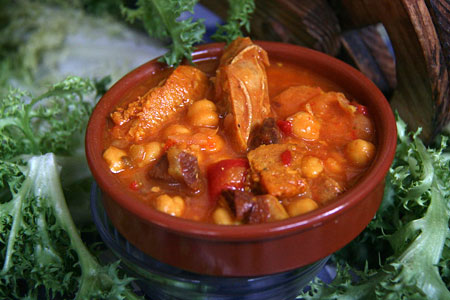 Escudella (Catalan Stew) - Barcelona Food