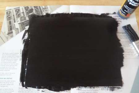 Blackboard Photo Frame