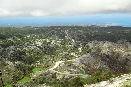 The view form the top - Exploring Mount Pantokrator