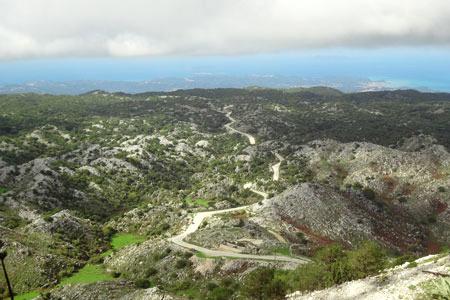 The view form the top - Exploring Mount Pantokrator