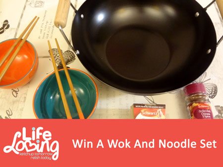 Win A Wok And Noodle Set