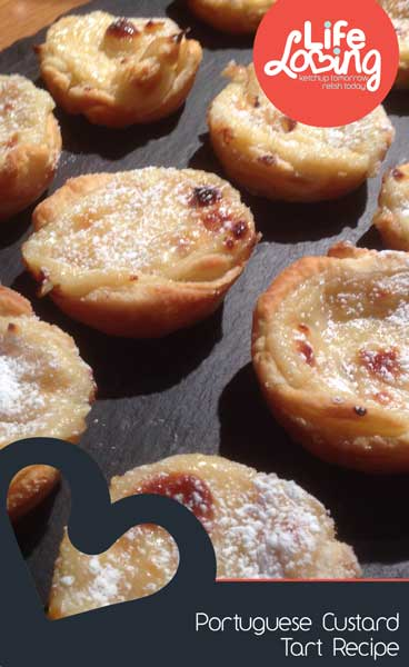 Portuguese Custard Tarts by Life Loving Blog