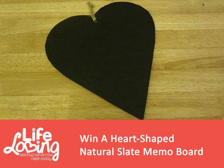 Slate Memo Board Competition