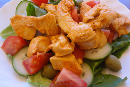 Piri Piri Chicken Salad Recipe
