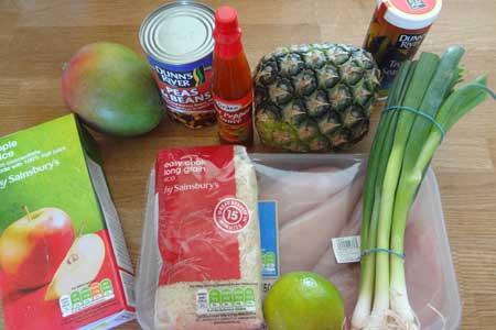 Tropical Chicken Casserole Recipe