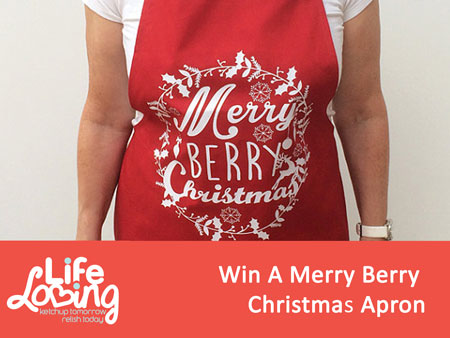 Win A Merry Berry Christmas Apron