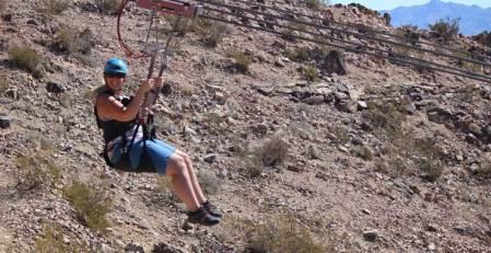 Zip Lining in Las Vegas