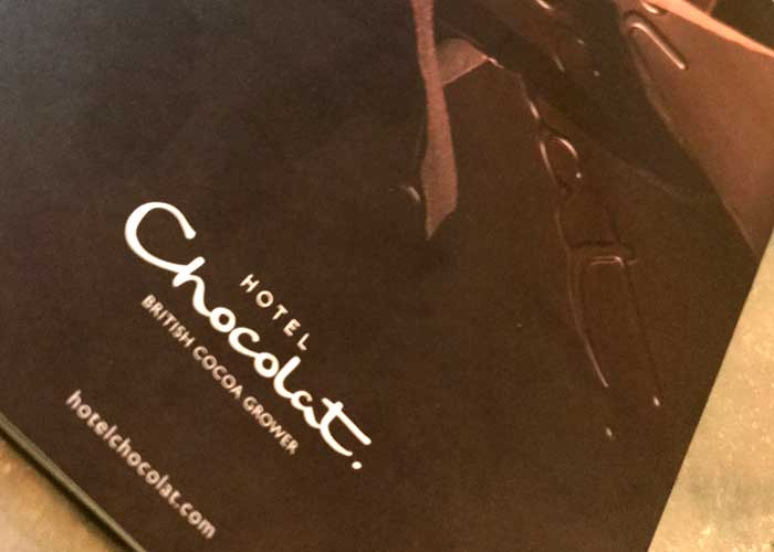 Hotel Chocolat Tasting Experience