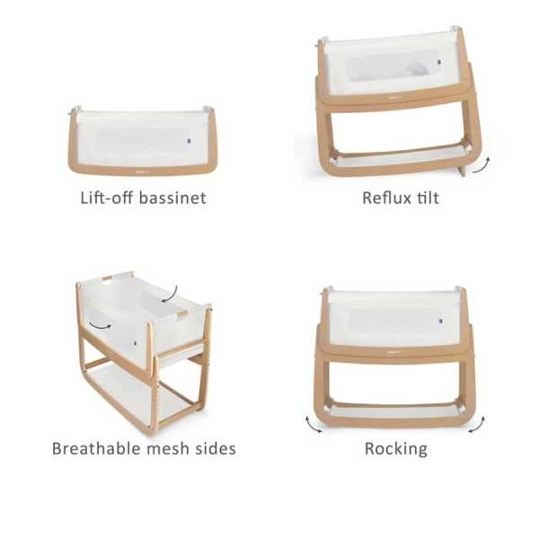 Snüzpod Bedside Crib