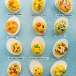 Low Carb Deviled Eggs - 12 different ways are the perfect easy make-ahead appetizers for Easter Mother's Day or any weekend or holiday brunch. Best of all, they are low carb, keto and packed with protein.