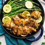 Instant Pot Lemon Garlic Chicken - a one pot recipe made in the pressure cooker is the perfect easy meal for busy weeknights. Best of all, the chicken cooks up tender and juicy in a buttery lemon garlic sauce.