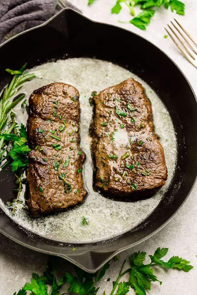 Garlic Butter Steak - Life Made Keto
