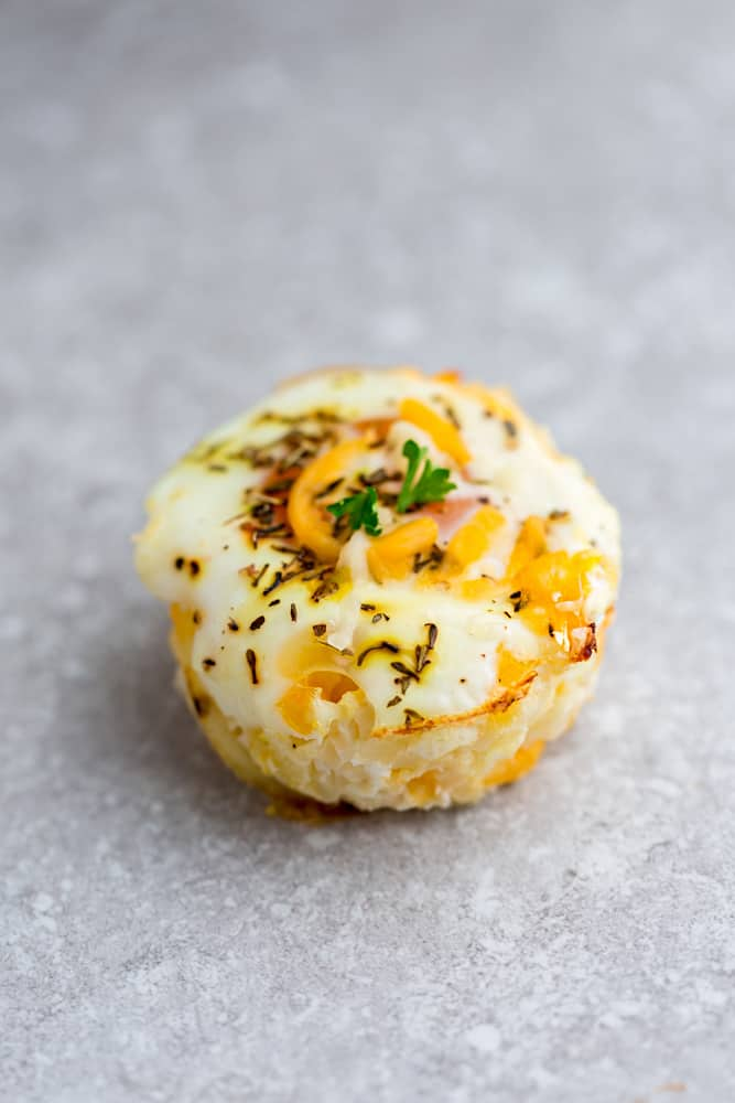 Cauliflower & Cheese Baked Egg Cups - 8 Ways - Recipe Photo Picture27Baked Egg Cups - 9 Ways are the perfect low carb and protein packed breakfast. Best of all, they are super simple to customize and come together in less than 30 minutes!