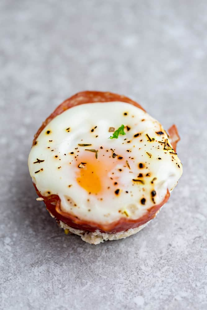 Genoa Salami Baked Egg Cups - 9 Ways are the perfect low carb and protein packed breakfast. Best of all, they are super simple to customize and come together in less than 30 minutes!