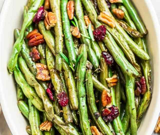Roasted Green Beans Are The Perfect Easy Side Dish Fresh Green Beans Fresh Green Beans