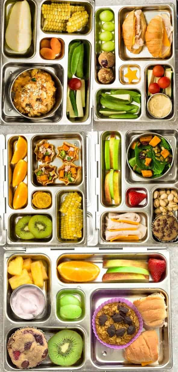 5 Easy Bento Box Lunches For Fall Healthy Easy School Lunch Recipes