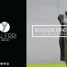 Yalerri ouvre une boutique éphémère pour ce mois de juillet