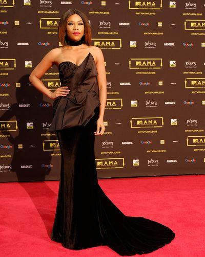 L'actrice sud africaine Bonang Matheba