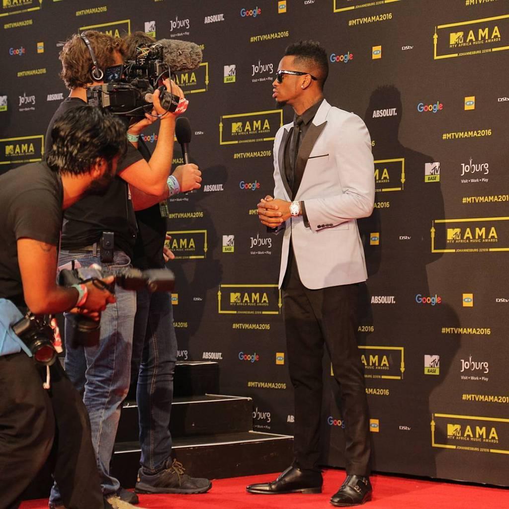 Le chanteur tanzanien Diamond Platnumz